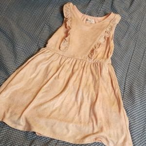 Pink and gold shimmer dress